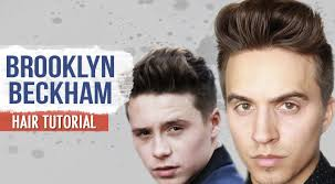 what hair producr does beckham use brooklyn beckham hair tutorial men s hairstyle by dre drexler