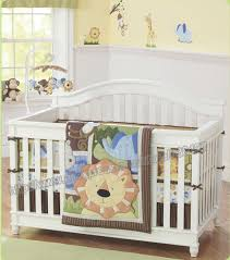 Crib Bedding Sets Unisex 7 Pieces Lovely Baby Cot Bedding Set 3d Africa Crib Bedding