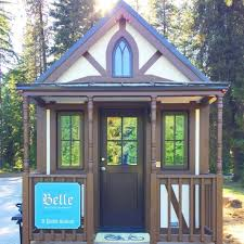 Tiny Home Rental 307 Square Foot Belle Rental At Leavenworth Tiny House Village