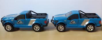 jurassic world jeep blue jurassic world 2015 jada toys ford rescue truck 1 43 diecast flickr