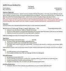 Sample Resume Bullet Points by Computer Science Sample Resume Jennywashere Com