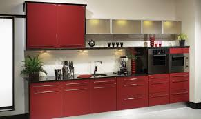 Gloss Red Kitchen Doors - red gloss bedroom furniture