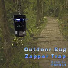 Outdoor Bug Lights by Serenelife Pmtr14 Outdoor Bug Zapper Trap Electric Light Plug