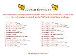 thanksgiving math activities 100 s board