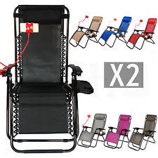 Armchair Drink Holder Folding Beach Chair Ebay