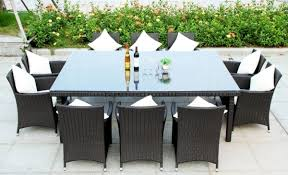 6 Seat Patio Dining Set Dining Room 10 Seat Outdoor Dining Set Amazing Dining Room Sets