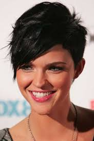 haircuts with longer sides and shorter back pictures of short haircuts with bangs short hairstyles 2016