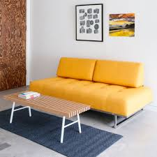 gus modern james citrine sleeper sofa eurway