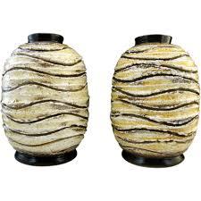 Large Ceramic Vases Louis Dage Pair Of Art Deco Ceramic Vases 1930 U0027s From Adcgl On