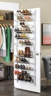 36 pair over the door resin shoe rack white walmart com