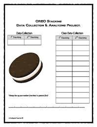 oreo stacking challenge mean median mode u0026 range math oreo