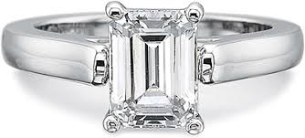 precision set rings precision set flush fit solitaire diamond engagement ring 7918