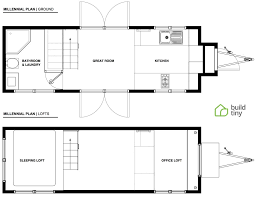tiny floor plans millennial tiny house by build living interior houses inside cabin