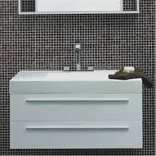 Wall Hung Vanity Unit With Basin Durab Maria 1000 Wall Mounted Vanity Unit With Basin White At