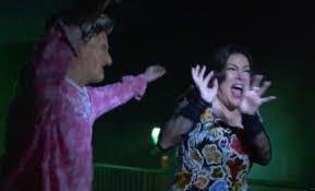video jennifer tilly vs freddy and jason at halloween horror