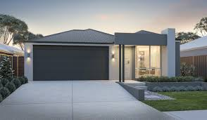 narrow home designs narrow lot single storey homes perth cottage home designs