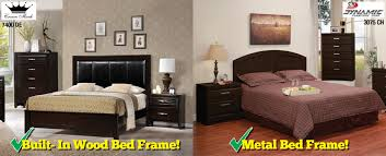 Bedframe With Headboard Metal Versus Wood Bed Frames Which Is For You Surplus
