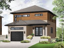 modern 2 story house plans modern house plans 2 story contemporary home plan fits narrow