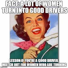 Turn Photo Into Meme - vintage 50s woman driver imgflip