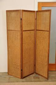 vintage caned rattan room divider screen at 1stdibs