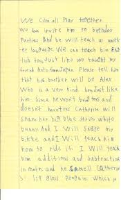 a six year old u0027s letter to the president
