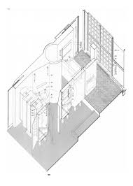 house architecture drawing pierre chareau u0026 bernard bijvoet maison de verre architecturalogy
