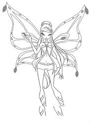 roxy enchantix winx club coloring pages batch coloring