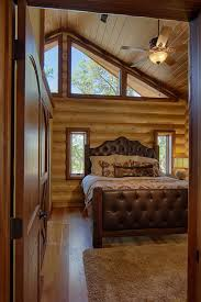 Log Home Bedrooms Log Cabin Bedroom Bedroom Rustic With Area Rug Cathedral Ceiling