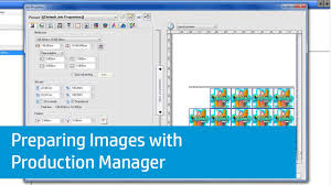 Print Production Manager Preparing Images With Production Manager On The Hp Latex Print And