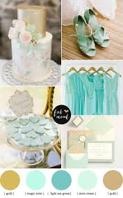 shades mint and gold wedding wedding weddings and