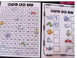 blank hundred chart multiplication aids