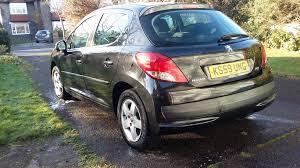 peugeot sedan 207 peugeot 207 verve petrol 1 4l low miles serviced recently camber