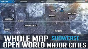 map of usa with major cities whole map of usa amazoncom 24x36 united states usa classic elite