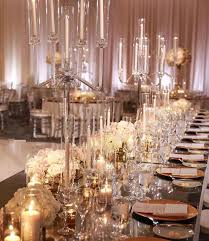 candelabra centerpieces the wedding chandelier glass candelabra centerpieces for