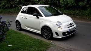 Fiat 500 Abarth White Fiat 500 Abarth Esseesse With Monza Exhaust