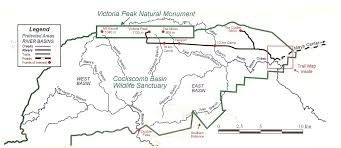 Great Basin National Park Map Cockscomb Wildlife Sanctuary And Jaguar Preserve Belize National