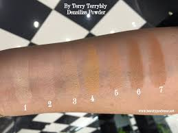 by terry terrybly densiliss wrinkle control serum foundation 8 5 beauty professor by terry fall 2014 densiliss releases a swatch