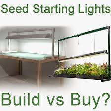 shop light for growing plants seed starting grow lights build or buy