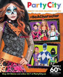 party city halloween store party city flyer october 2 to 31