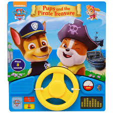 paw patrol power wheels paw patrol pups and the pirate treasure little steering wheel