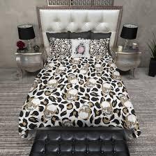 leopard print bedding sets vnproweb decoration
