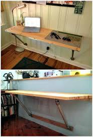 Wall Desk Diy Diy Wall Desk Space Saver Wall Mounted Desks To Buy Or Via Co Diy