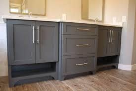 master and shared bathroom custom cabinets flip 1 benevola