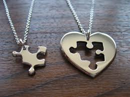 best friends puzzle necklace images 5 piece bff necklace on the hunt jpg