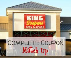 king soopers coupon match up colorado coupon club