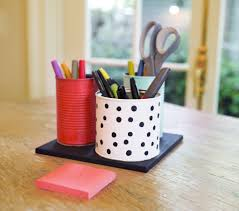 Diy Desk Organizer Ideas Diy Desk Organizer Inspired By Kate Spade The Accent