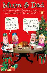 mum u0026 dad funny christmas greeting card cards love kates