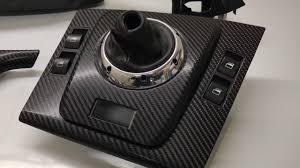 Bmw M3 Interior Trim M Tec Dynamics Bmw E46 M3 Smg Coupe 4d Glossy Carbon Fibre Vinyl