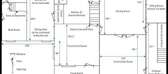 House Floor Plan Measurements House Renovations Blog Niles House Floorplan First Floor Floor