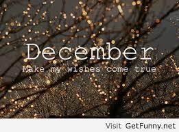 month of december
